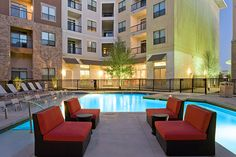 Luxury apartments in Central Austin features unique one, two and three bedroom floor plan designs. The kitchens offer modern and rich granite countertops, stainless appliances and gourmet kitchen islands. Our apartment homes also include a washer & dryer, outdoor storage, airy ten foot ceilings, faux wood flooring, custom lighting and ceiling fans Our community will amaze you with luxurious amenities that are unique.