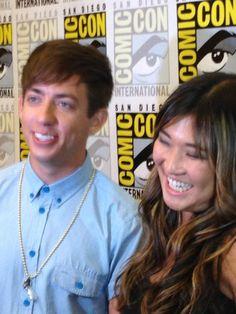 Jenna + Kevin doing press! <3