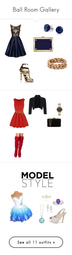 """""""Ball Room Gallery"""" by mazkey-gibson on Polyvore featuring Lipsy, Chi Chi, Valentino, STELLA McCARTNEY, Bling Jewelry, Chanel, Phase Eight, MICHAEL Michael Kors, Marc by Marc Jacobs and Lauren Lorraine"""