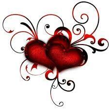 "Photo from album ""Валентинки"" on Yandex. Rose Tattoos, Body Art Tattoos, Red Heart Tattoos, Illustration Tattoo, Heart Artwork, Geniale Tattoos, I Love Heart, Diy Tattoo, Heart Wallpaper"