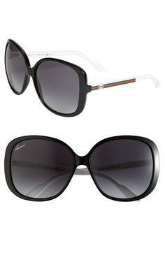 GUCCI                                                                                                                         Oversized Square Sunglasses                                                                                                                        ✺ꂢႷ@ძꏁƧ➃Ḋã̰Ⴤʂ✺