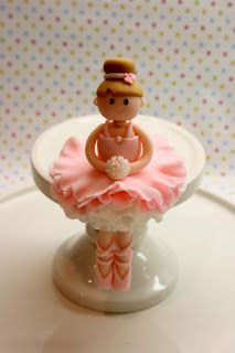 Beautiful Kitchen: Ballerina Cake