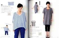 Punto diritto vestiti facile artigianato giapponese di pomadour24