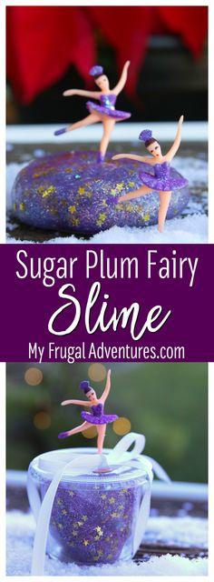 Sugar Plum Fairy Slime Recipe