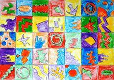 Un semplice esercizio ispirato alle forme di Matisse per comprendere i colori Complementari. Su una griglia di quadrati 5x5cm disegniamo semplici forme astratte e libere e le coloriamo con i colori…