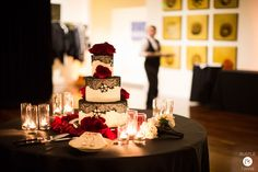 Cake - Wedding at Terra Gallery, San Francisco {Photo by Bustle & Twine}