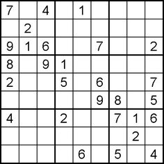 FREE Sudoku Collection contains printable Sudoku and online Sudoku puzzles with various  levels of difficulty from beginner to expert plus Big Sudoku and Giant Sudoku puzzles.  There are also Alpha Sudoku puzzles, a Daily Sudoku and Sudoku puzzles for Kids.