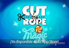 Cut the Rope: Magic ya está disponible en la App Store para iPhone y iPad