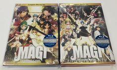 Magi The Labyrinth of Magic & The Kingdom of Magic Complete Box Set review