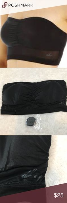 DKNY Bandeau Convertible Strapless Bra Brand new with out tags straps included  super soft  light padding  please let me know what questions you have Dkny Intimates & Sleepwear Bandeaus