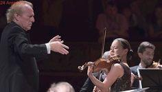 Una violinista magistral