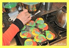 Tie Dye Pancakes Great 8 Year Old Girl Birthday Party Ideas: Tie Dye Party!