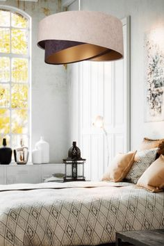 Hledáte něco originálního a zároveň nadčasového? Pak je Awena trefa do černého!  #interiérovýdesign #inspirace #osvětlení #handmade #light #luxprim Luminaire Sur Rail, Luminaire Led, Lampe Decoration, Oeuvre D'art, Ceiling Lights, Beige, Furniture, Design Interiors