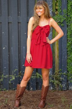 Bow For The Princess Dress: Maroon
