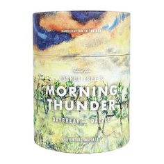 Joshua Tree National Park Morning Thunder 11 oz Candle by Ethics Supply Co - Seven Colonial Aromatherapy Candles, Scented Candles, Joshua Tree National Park, National Parks, The Embrace, Watercolor Artists, Candle Wax, Thunder, Biodegradable Products