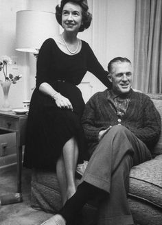 George and Lenore Romney, 1962.