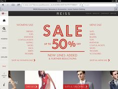 Riess. Web based tablet app. Side menu. Good use of grid.