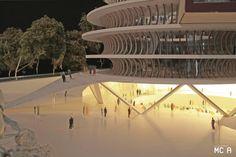 Kwame Nkrumah Presidential Library, Akosombo, 2013 - MCA - Mario Cucinella Architects