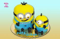 Torta mimoni 3D, mignions cake 3D