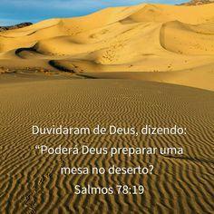 Salmo 78:19