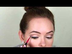 Audrey Hepburn Breakfast At Tiffanys Makeup Tutorial - YouTube