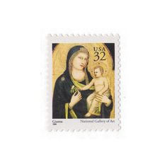 10 Unused Postage Stamps  1995 32c Madonna by VintagePostageShop