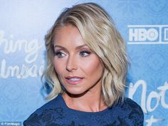 I don't blame her and feel that in her place, I would just opt out of my contract. I'd be done with Disney. No show: Kelly Ripa (above on April 4) did not appear on Live With Kelly and Michael Wednesday morning, the day after it was announced Michael Strahan was leaving