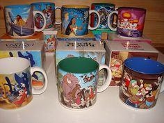 Disney mugs by tkimmy on Etsy, $12.00
