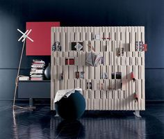 B&B Italia Softwall room partition and organizer