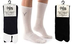 f86b06090701 3 Pairs Combo - Athletic Flip Flop Tabi Toe Socks V-Toe Thicker Sports Or  Casual Style - Black