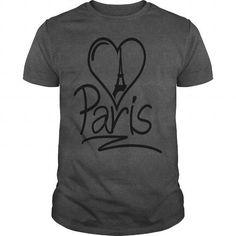 Paris Heart Kids' Shirts