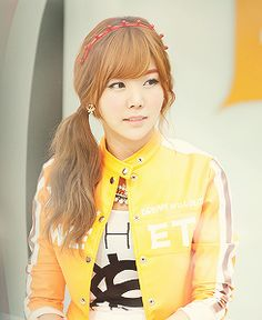 Raina - Cutie Girl After School Orange Caramel Pretty