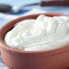 Receita: Como fazer Iogurte Grego Zero Gordura em Casa Iogurte grego caseiro 002