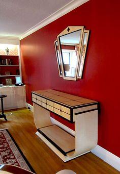 Art Deco Furniture Reproductions   Art Deco Buffet Sideboard