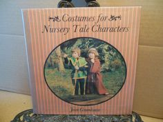 Costumes for Nursery Tale Characters~How to Make Sew Play Theatre Halloween