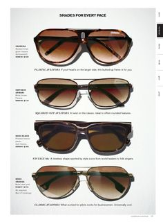 Add plain Black Wayfarers, and these are your must-have sunglasses Mens  Sunglasses, c4769b7076