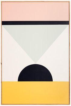 Work by Esther Stewart. Op Art, Painting Inspiration, Art Inspo, Illustration Arte, Modern Art, Contemporary Art, The Design Files, Art Graphique, Totems