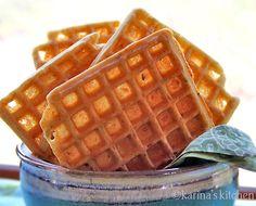 gluten free savory waffles