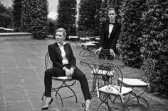 Cate Blanchett, Emily Blunt, Zhou Xun, Ewan McGregor and Christoph Waltz shot by Peter Lindbergh for the launch of the new Portofino by IWC Schaffhausen. Dandy, Christoph Waltz, Ewan Mcgregor, Peter Lindbergh, Just Dream, Emily Blunt, Cate Blanchett, Queen, Suits For Women