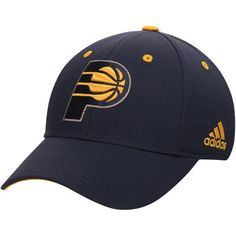 release date: e23d8 e69a5 Youth adidas Navy Indiana Pacers Primary Logo Flex Hat