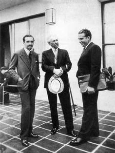 Lucio Costa, Frank L. Wright & Gregori Warchavchik