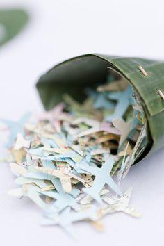 Personaliza de forma divertida y original tus confettis para el día de tu Boda.