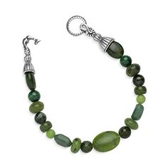 Best Bracelets For Women | Sterling Silver Green Multi Gemstone Bracelet * Find out more about the great product at the image link. Note:It is Affiliate Link to Amazon. #likeme