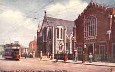 Congregational Church in Edmonton where Edward Charles Watson married Norah Coburn (nee Weller) on 13 May 1932
