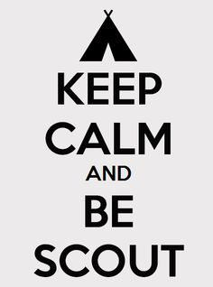 BlogScouter: Keep Calm and Be Scout