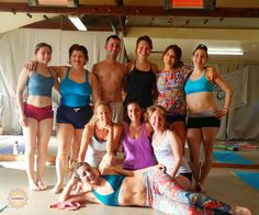 ‪#‎yogastory‬ Day 4: The group in Santa Barbara smiles for the camera before class!  Smile with us: www.evolationyoga.com  ‪#‎yoga‬ #love #hotyoga #learn #yogateachertraining #travel ‪#‎santabarbara‬