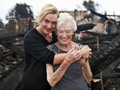 "KATE WINSLET  The good deed: Carried tycoon Richard Branson's mother out of a fire   The Oscar winner's most noteworthy performance to date may be her heroic deed in August 2011, when she saved the life of the 90-year-old mother of Richard Branson when the British tycoon's $70 million British Virgin Islands home caught fire with 20 people inside. ""No I didn't save her life,"" the modest star claims. ""I carried her down the stairs is the truth of it."""