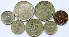COINS OF SWEDEN 1931 All Currency, Old Coins, Coin Collecting, Sweden