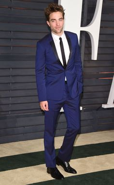 Robert Pattinson from 2015 Oscars After-Party Looks (Plus Viewing Parties!) In Dior Homme.