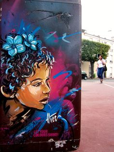 """Let Your Colours Shine""  •  Alice Pasquini - Vitry (France)"